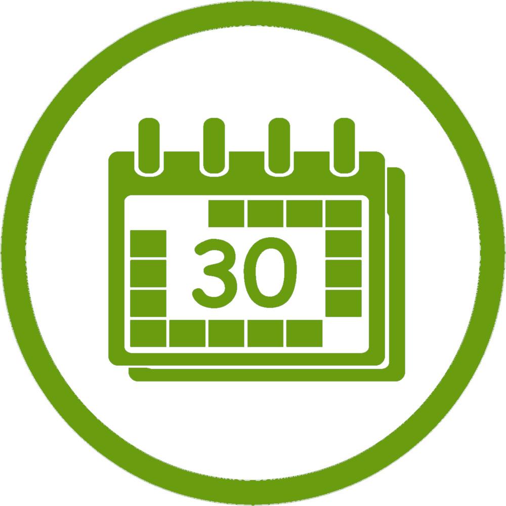 SemenVitae Kalender Grün