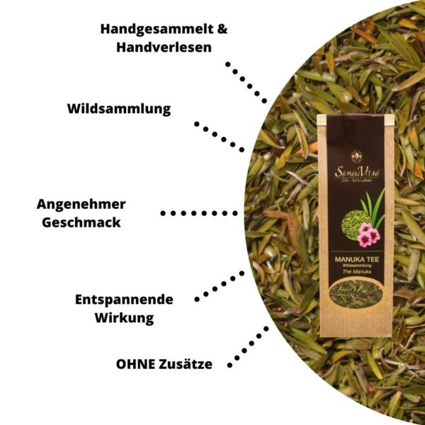 Manuka Tee Vorteile